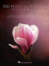 100 Most Gorgeous Songs Ever Play Pop Love Chart PIANO Voice GUITAR MUSIC BOOK