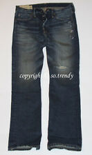 ABERCROMBIE & Fitch Mens Vintage Destroyed HORTON Classic Straight Jeans 30x30