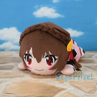Konosuba Megumin's Friend Kuttari Nesoberi Anime Jumbo Plush Doll YunYun SG3346