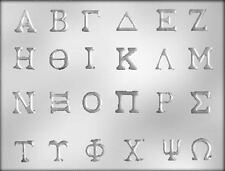 Greek Alphabet Chocolate Candy Mold CK #14296
