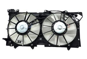 CF2013460 Dual Engine Cooling Fan Assembly 2010-2014 Subaru Legacy Outback 3.6L