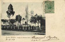 brazil, PORTO ALEGRE, Arraial do Menino Deos, Church (1904) Stamp