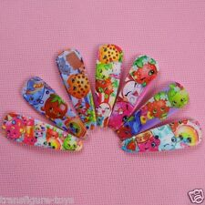 NEW Shopkins Girls Hair Clip clips Hairpins Multiple Colours stock in Australia