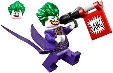Lego The Batman Movie Minifigura The Joker Set 70908 - Nuevo, 100% Original