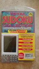 "NEW TOTAL SUDOKU  COLLECTION ""CHALLENGING PUZZLES""  NO Internet Required"