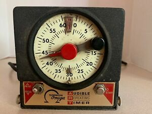 Vintage Audible Repeating Timer Simmon Omega M-59 J-2970 Works