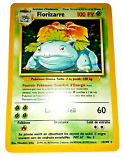 Pokemon Card - Florizarre - Venusaur (15/102) FRENCH Base Set Rare Holo ***NM***