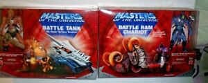2001 Masters Of The Universe Battle Ram Chariot Skeletor Demoliton Vehicle & He-