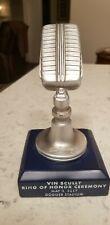 Vin Scully Commemorative Microphone Statue 2017 Dodgers SGA 5/3/17