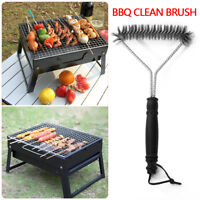 BBQ Brush Stainless Steel Durable Grill Clean Tools Wire Bristles Cleaning Brush