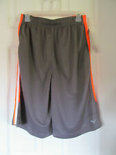EVERLAST Boys Subtle Striped Pique Athletic Shorts w// Side Stripe FREE Shpg NWTA