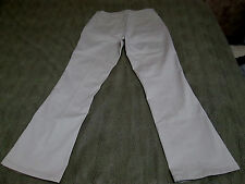 """RIDERS INSTANTLY SLIMS YOU BOOT CUT KHAKI JEANS SIZE 16/32 M 31 1/2"""" INSEAM NICE"""