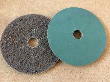 100 mm x 16 MM di superficie condizionata disco fessure slot grossolana Tan 6250 sia SCM