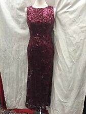 ELIZA J DRESS/LONG GOWN/NORDSTORM DRESS/NEW WITH TAG/RETAIL$280/SIZE 12/WINE