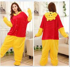 Winnie the Pooh Unisex Pajamas Kigurumi Cosplay Costume Animal Onesi1 Sleepwear