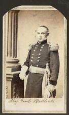 Civil War CDV Union General Henry Halleck Old Brains