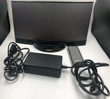 Bose SoundDock II altavoces box negro iPod iPhone de alimentación control remoto