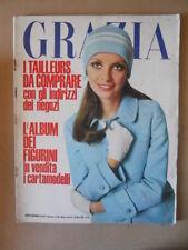 GRAZIA Rivista di moda n°1467 1969  G64  con Album Figurini 8d855055bbb