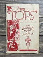 Vintage Magazine The Tops Independent Magazine Of Magic March 1938