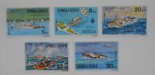 Samoa 1975 SG444-448 Interpex and Joyita set MNH