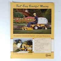 Walker Mowers Advertising and Sales Brochure Lawn And Garden Yard Agriculture