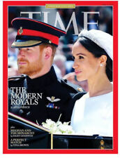 Time Magazine - 06/04/18 - The Modern Royals.  Harry and Megan on cover