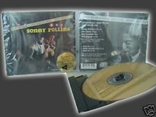 SONNY ROLLINS OUR MAN IN JAZZ RARE CLASSIC RECORDS 24 KARAT Gold Sealed CD