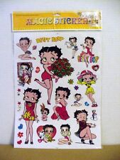 "BETTY BOOP STICKERS 12"" X 16"" SHEET ASSORTED DESIGNS"