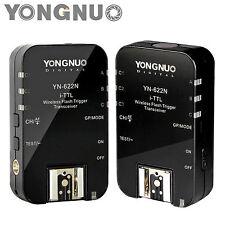 YONGNUO Wireless TTL Flash Trigger YN-622N with HSS 1/8000 for Nikon