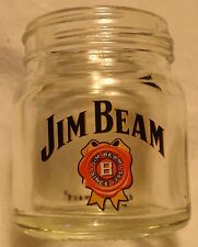 Jim Beam Mini Mason Jar - Mini Canning Jar Shot Glass...NEW - Very Cool