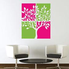 Leinwand-stil Baum Vinyl Kunst Wand Sticker / Wandaufkleber