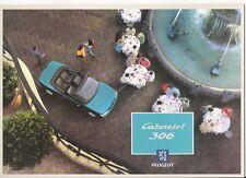 PEUGEOT 306 CABRIOLET BROCHURE 1994 jm