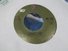 H3 ALICE COOPER SCHOOLS OUT / GUTTER CAT ON WARNER BROTHERS RECORDS