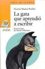 La gata que aprendio a escribir (Sopa De Libros / Soup of Books)-ExLibrary