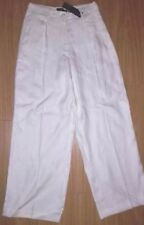 Marks and Spencer Linen High Rise Trousers for Women