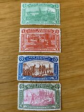 More details for new zealand 1906 christchurch exhibition stamps sg370-3