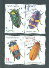 Australia-Beetles fine used /cto 2016-Insects
