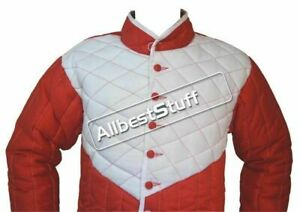 Medieval Thick Padded Gambeson suit of armor quilted costumes the