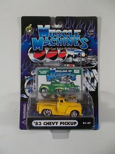 Muscle Machines 1/64 '53 Chevy Pickup 01-37