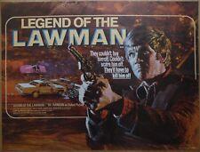 LEGEND OF THE LAWMAN (1975) - original UK quad film/movie poster, rare!