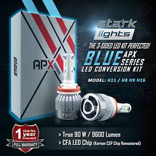 Stark 90W 9600LM LED 8000K New Blue Chip Headlight Conversion Kit - H11