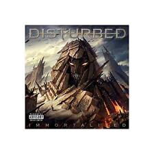 NEW!! Immortalized [PA] by Disturbed (Nu-Metal) (CD, Aug-2015, 2 Discs, Reprise)
