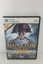 NAPOLEON: TOTAL WAR - LIMITED EDITION 2-DISC PC CD-ROM GAME FOR WINDOWS