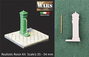 WARS 18-35 Fontana kit resina diorama guerra WW2 Fountain resin kit 1:35
