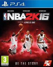 NBA 2K16 (PS4) Brand New& Sealed + Free UK Postage