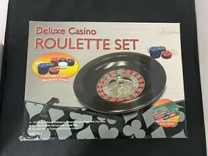 Unbranded, Deluxe Casino, Roulette Set, Age-14+ GA-706 #KW