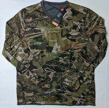 Under Armour Mid Season Reversible Wool Base Crew Shirt Forest 1297423-940 XXL