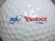 (1) YAHOO SBC DSL LOGO GOLF BALL