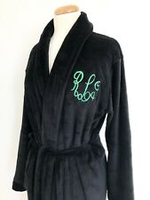 Luxury Super Soft Plush Coral Robe with FREE Personalized Monogramming