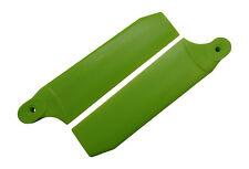 KBDD Neon Lime 104mm Extreme Tail Rotor Blades -Trex 700 Goblin 630 #4076
